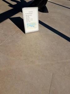 Dalle Luxor Grey Sablée Brossée